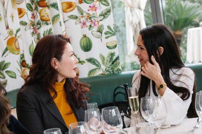 jasmin rosemberg in DECORTÉ and Modern Luxury Angeleno Luncheon