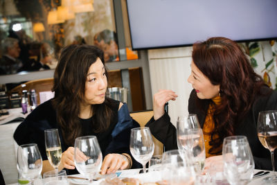 jessica cho in DECORTÉ and Modern Luxury Angeleno Luncheon