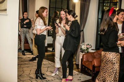 margaret hancock in Lingua Franca's Extraordinary Women Cocktail Party at The Ludlow Hotel Penthouse