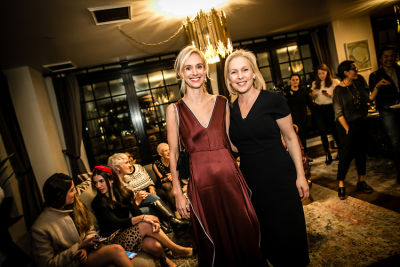 rachelle hruska-macpherson in Lingua Franca's Extraordinary Women Cocktail Party at The Ludlow Hotel Penthouse