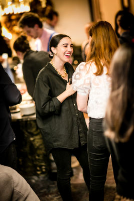 sophie furman in Lingua Franca's Extraordinary Women Cocktail Party at The Ludlow Hotel Penthouse