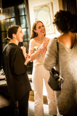 kate hudson in Lingua Franca's Extraordinary Women Cocktail Party at The Ludlow Hotel Penthouse