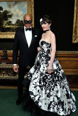 rebecca vanyo in Frick Collection Young Fellows Ball 2019