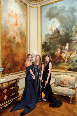 olivia black in Frick Collection Young Fellows Ball 2019