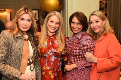 DECORTÉ & Susan Gutfreund Host A Ladies' Luncheon At Majorelle