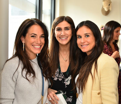 lisa silverman in Inside Alex Toccin's Uber Chic Mother's Day Celebration