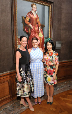 jennifer farrell in Socialites Bloom At The Frick Collection's 2019 Spring Garden Party