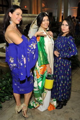 tijana ibrahimovic in The Frick Collection Spring Garden Party 2019