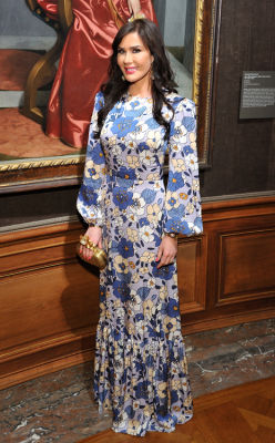 rebecca vanyo in The Frick Collection Spring Garden Party 2019