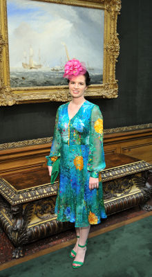johanna collins-wood in The Frick Collection Spring Garden Party 2019