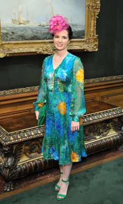 johanna collins-wood in Socialites Bloom At The Frick Collection's 2019 Spring Garden Party