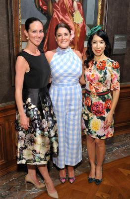 julie wald in The Frick Collection Spring Garden Party 2019