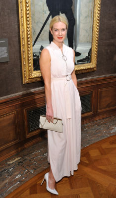 polina proshkina in The Frick Collection Spring Garden Party 2019