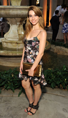 julia goldfeld in The Frick Collection Spring Garden Party 2019