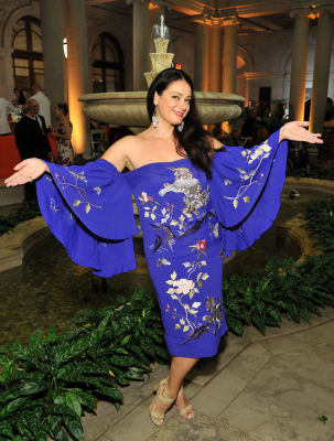tijana ibrahimovic in Socialites Bloom At The Frick Collection's 2019 Spring Garden Party
