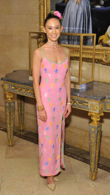 aiko neligan in Socialites Bloom At The Frick Collection's 2019 Spring Garden Party
