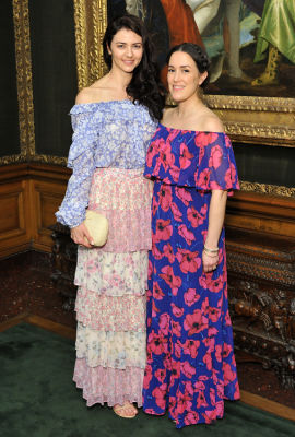 anne dyas in Socialites Bloom At The Frick Collection's 2019 Spring Garden Party