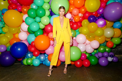 Aquaria, Sofia Richie & More Celebrate Pride At Alice + Olivia's Rainbow Bash