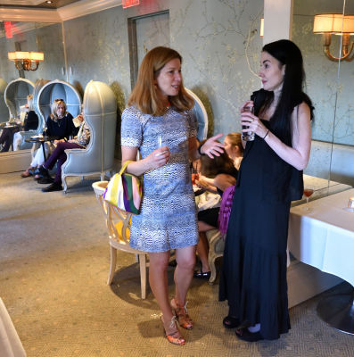cara elliott in The Plaza: The Secret Life of America's Most Famous Hotel book launch