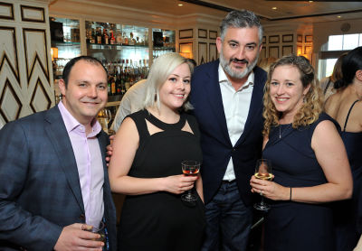 amir korangy in The Plaza: The Secret Life of America's Most Famous Hotel book launch