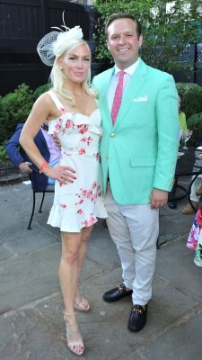 brett carr in New York Junior League's Belmont Stakes Party