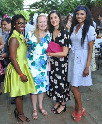 sandrine maurice in New York Junior League's Belmont Stakes Party