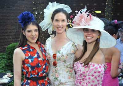 lauren junge in New York Junior League's Belmont Stakes Party