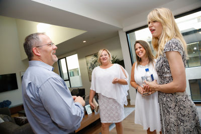 alana hadid in ETCO HOMES Presents The Terraces at The Ambassador Gardens VIP Preview, Rosé & Roses
