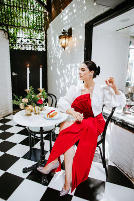 alexia maria in Inside The Divine World Of Alexia María, The Go-To Designer For Society's Modern Swans