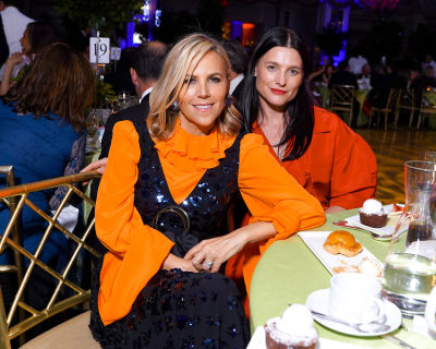 tory burch in The Upper East Side Goes Green For The Boys' Club Of New York's Fall Dance