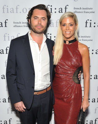 elodie taittinger in FIAF Young Patrons Fall Fete 2019