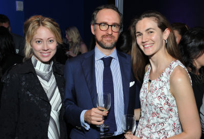 paten hughes in FIAF Young Patrons Fall Fete 2019