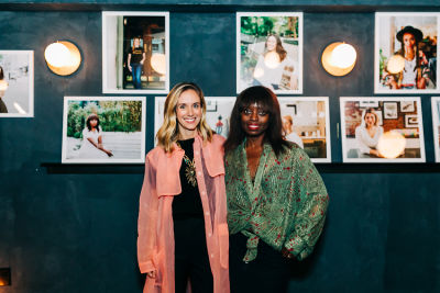 dee poku in European Wax Center Celebrates 'Women for Women' Series with Guest of a Guest -Part 1