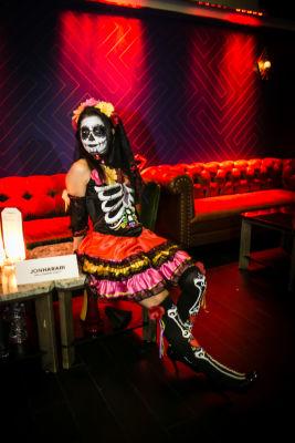 ozlem aydin in Jon Harari Annual Halloween Party
