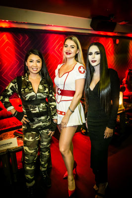 rocio garcia in Jon Harari Annual Halloween Party