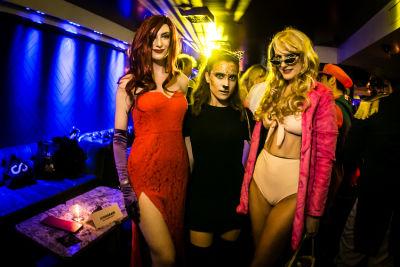 morgan kamm in Jon Harari Annual Halloween Party