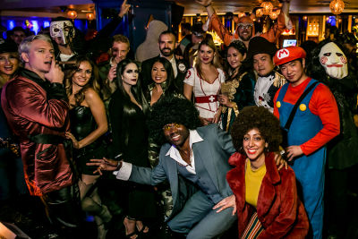 chuck english in Jon Harari Annual Halloween Party