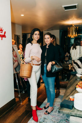 stephanie nass in Inside Guest of a Guest's Intimate Girls' Night In With Triumph Lingerie