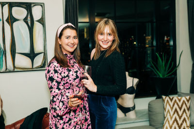 mackenzie newcomb in Inside Guest of a Guest's Intimate Girls' Night In With Triumph Lingerie