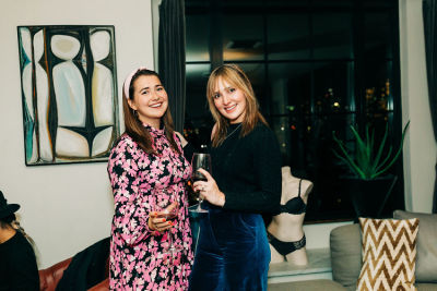 mackenzie newcomb in Intimate Evening with Triumph and Guest of a Guest at The Ludlow Hotel