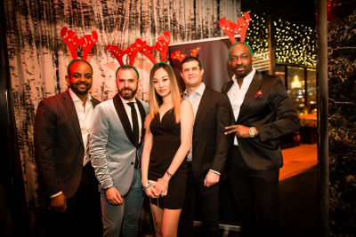 arthur rutledge in Jon Harari's Annual Holiday Party LIT Up The Night!