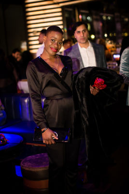 ines ouedraogo in Jon Harari Annual Holiday Party