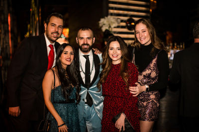 andrea suarez in Jon Harari's Annual Holiday Party LIT Up The Night!
