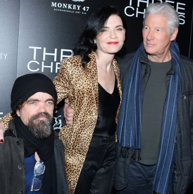 Richard Gere, Peter Dinklage, Julianna Margulies Fete Their New Film,
