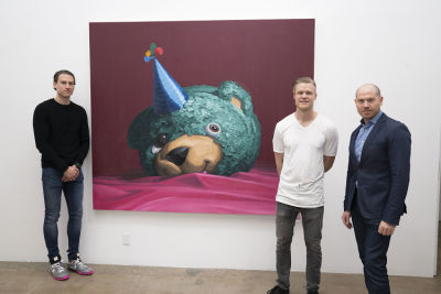 Artist Brent Estabrook Captivates Our Imaginations With Solo Show WILD At James Wright Gallery