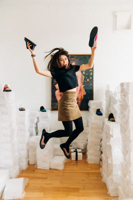 marie laffont in Meet Marie Laffont, The Parisian Designer With The Most Artsy Shoes In The Biz