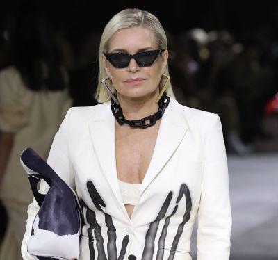 Yolanda Hadid Hit The Runway At Paris Fashion Week