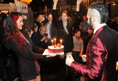jon harari in Jon Harari's Birthday Party