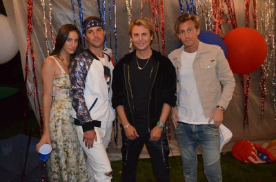 jonathan cheban in Inside Andrew Warren's Wildly Responsible Fourth of July Party