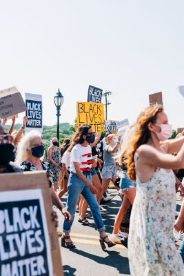 cynthia rowley in A-Listers Join Montauk's Love At The End March For Black Lives Matter